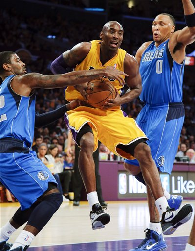 Kobe Bryant, Shawn Marion, O.J. Mayo