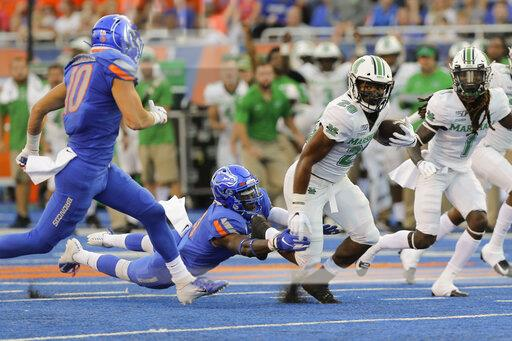 Marshall Boise St Football
