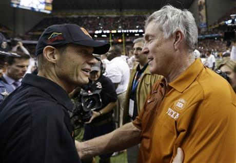 Mack Brown, Mike Riley