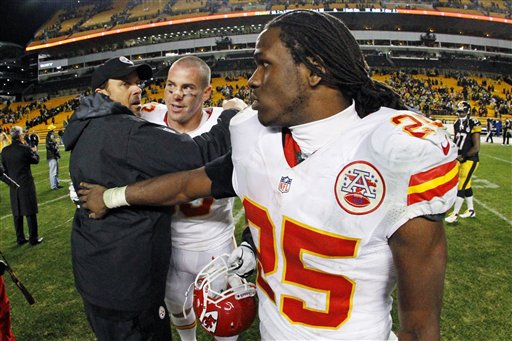 Todd Haley, Jamaal Charles, Shaun Smith