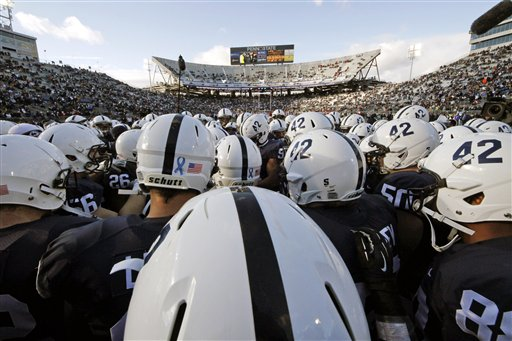 APTOPIX Wisconsin Penn St Football