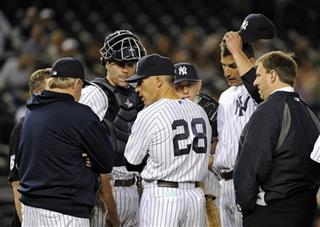 Andy Pettitte, Joe Girardi, Larry Rothschild