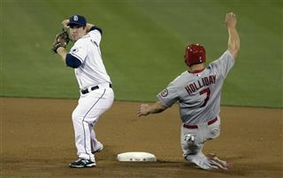 Jedd Gyorko, Matt Holliday