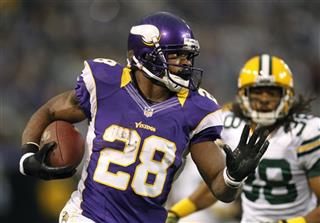 Adrian Peterson, Tramon Williams