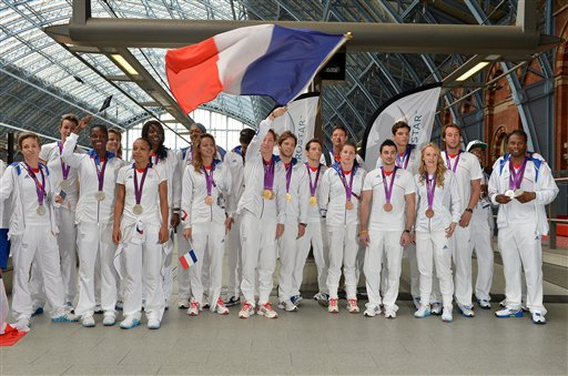 Olympic Athletes Depart from London St Pancras