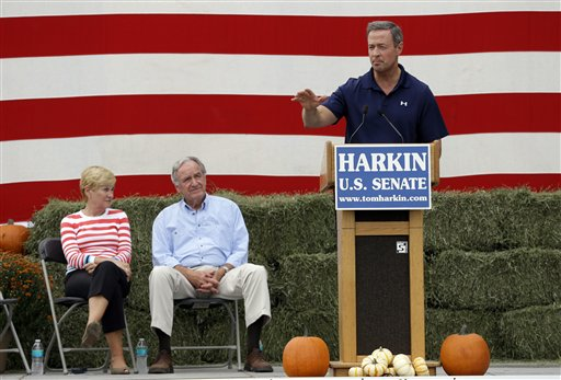 Martin O&#039;Malley, Tom Harkin
