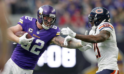 Kyle Rudolph, Tracy Porter