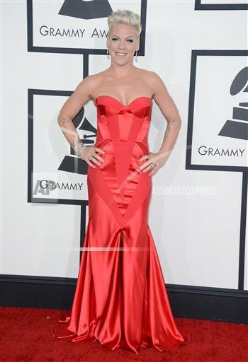 INVZ Jordan Strauss/Invision/AP A ENT CA USA CACJ163 The 56th Annual GRAMMY Awards - Arrivals