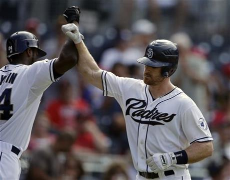 Logan Forsythe, Cameron Maybin