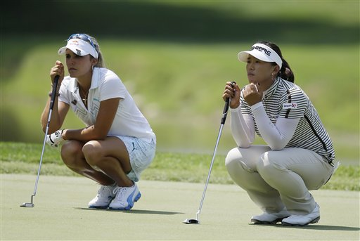 Lexi Thompson, Amy Yang