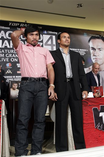 Manny Pacquiao, Juan Manuel Marquez