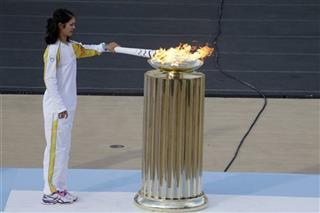 Greece Rio Olympics Flame