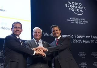 Enrique Pena Nieto, Ollanta Humala, Ricardo Martinelli