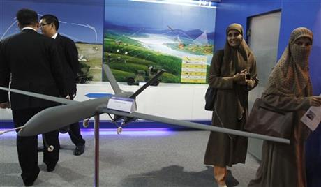 Pakistan Armed Drones