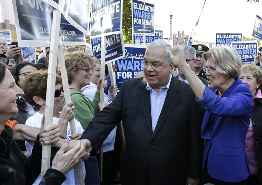 Elizabeth Warren, Thomas Menino