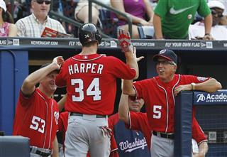 Bryce Harper, Davey Johnson, Randy Knorr