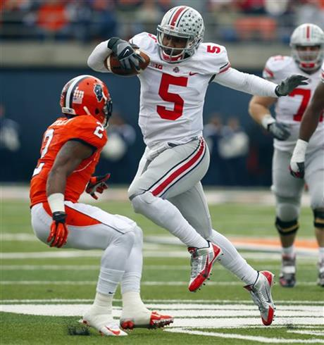 Braxton Miller, V'Angelo Bentley