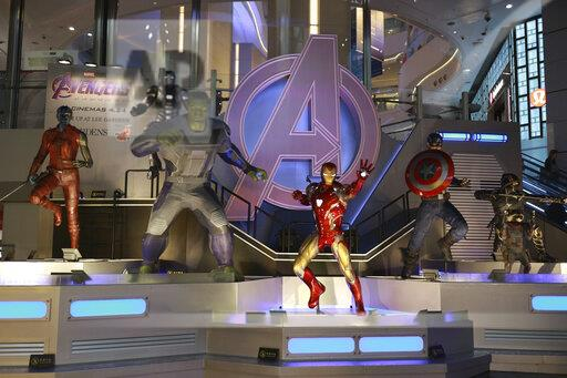 CHINA HONG KONG AVENGERS: ENDGAME EXHIBITION