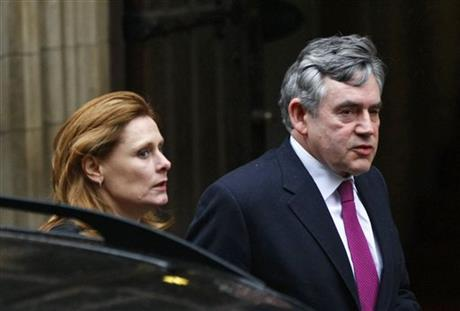 Gordon Brown, Sarah Brown
