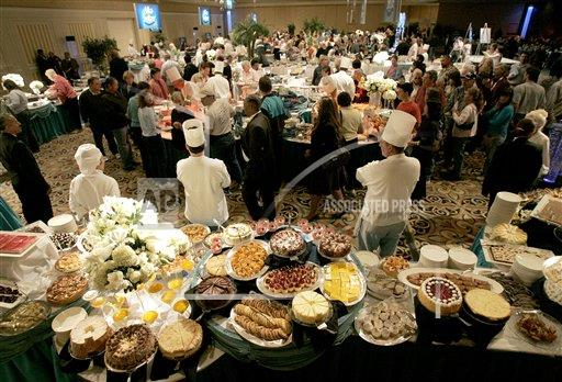 Associated Press Domestic News Nevada United States Feature WORLDS LARGEST BUFFET