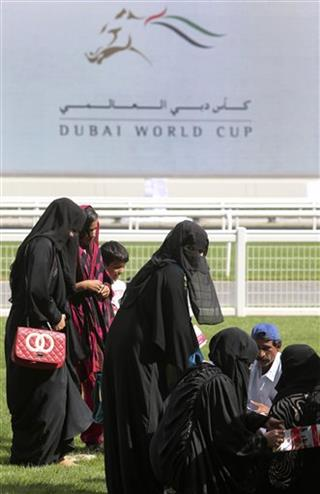 Mideast Emirates Dubai World Cup Horse Race