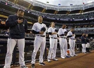 Joba Chamberlain, Hiroki Kuroda, Phil Hughes, CC Sabathia, Andy Pettitte