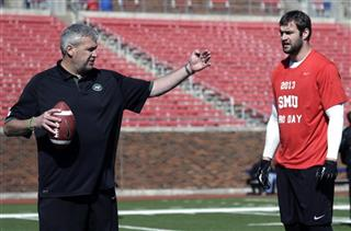 Margus Hunt, Rex Ryan, NCAA college football