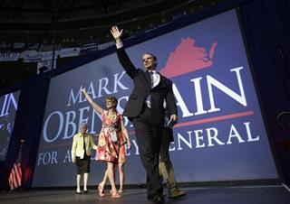 Masrk Obenshain, Suzanne Obenshain, Helen Obenshain