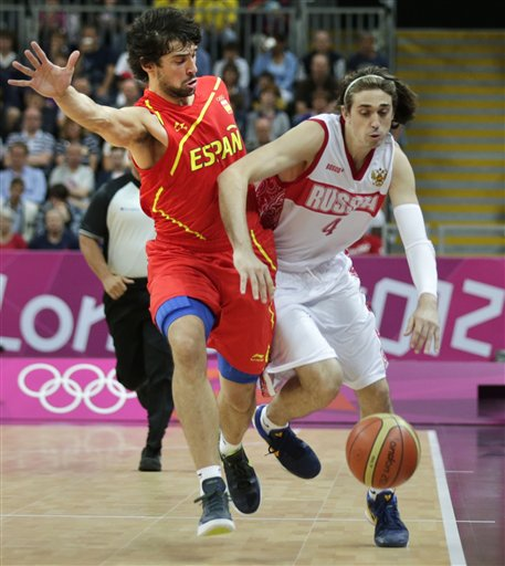 Alexey Shved, Sergio Llull