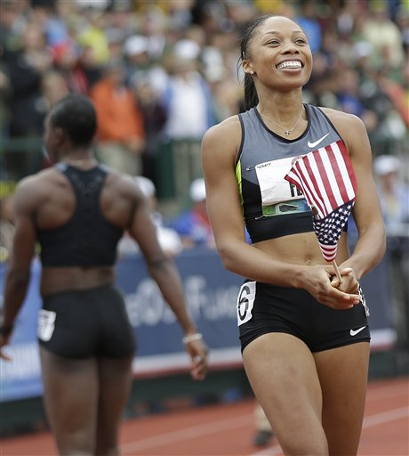 Jeneba Tarmoh, Allyson Felix