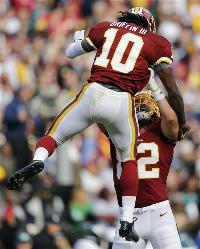 Robert Griffin III, Logan Paulsen