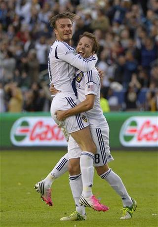 David Beckham, Marcelo Sarvas
