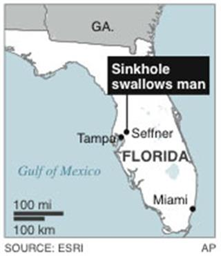 FLORIDA SINKHOLE