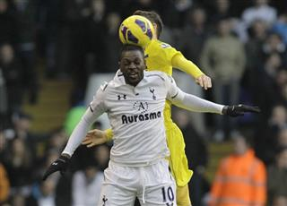 Emmanuel Adebayor, Chris Gunter
