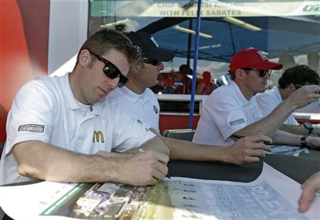 Jamie McMurray, Joey Hand, Scott Dixon