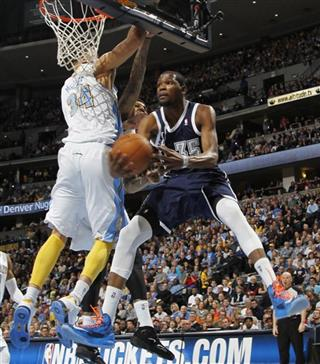 JaVale McGee, Kevin Durant