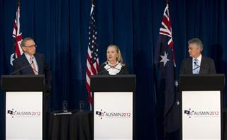 Hillary Rodham Clinton, Bob Carr, Stephen Smith