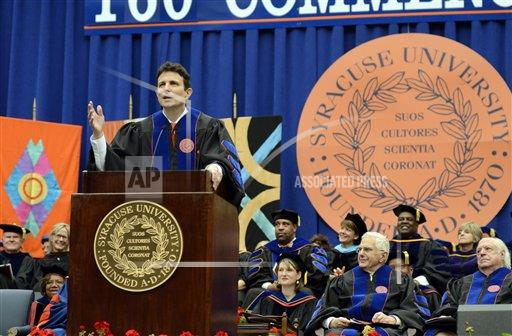2014 Syracuse University Commencement