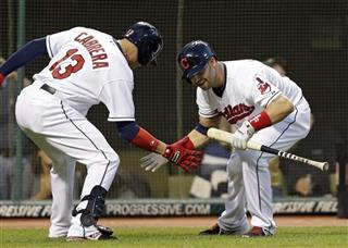 Nick Swisher, Asdrubal Cabrera