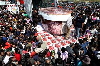 Mideast Iran Worlds Largest Icecream