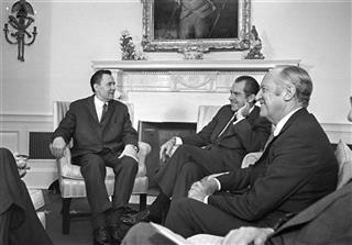 Richard Nixon, Andrei Gromyko, William P. Rogers