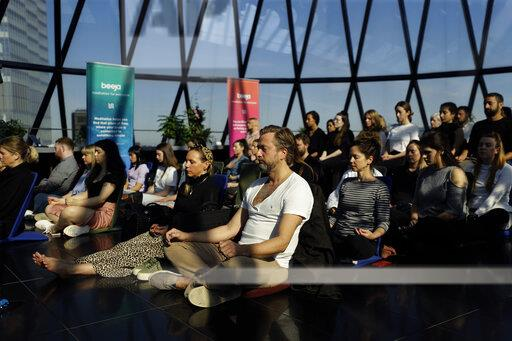 Britain World Meditation Day