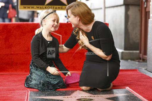 Amy Adams Honored with a Star on the Hollywood Walk of Fame