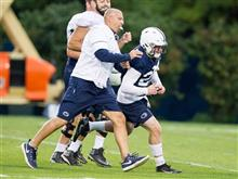 Penn State football practice, Sept. 28, 2016