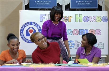 Michelle Obama, Sanae Brightm Kerry Bright, Ashanti Ferguson