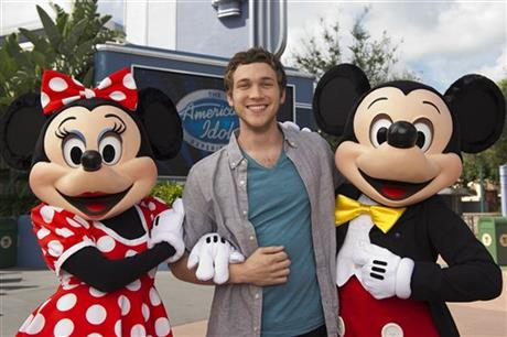 'AMERICAN IDOL' PHILLIP PHILLIPS AT WALT DISNEY WORLD