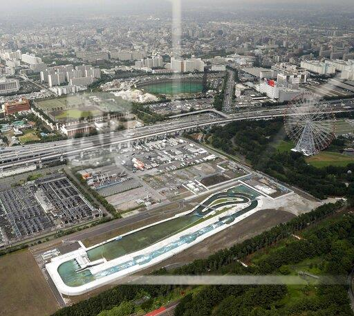Olympics: canoe venue for 2020 Games