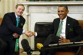Barack Obama, Enda Kenny