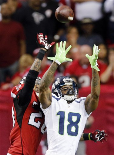 Sidney Rice ,Thomas DeCoud