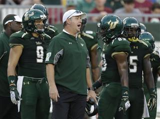 Big East Stumbling USF Football